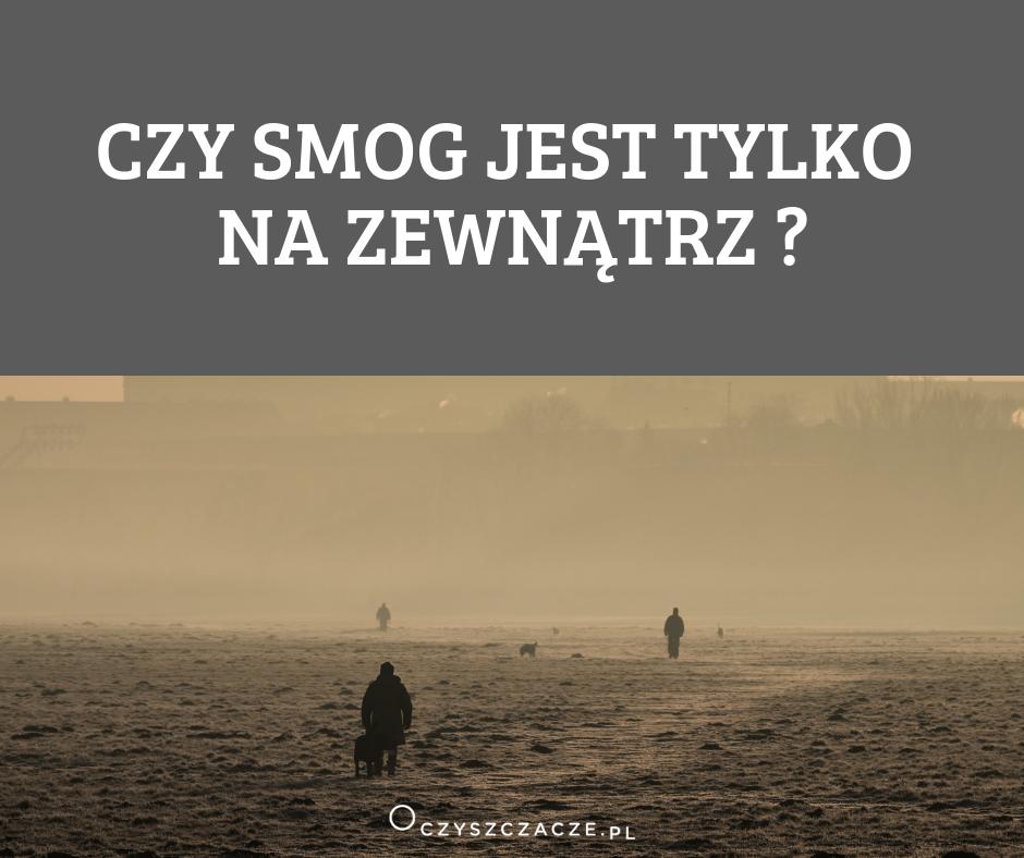 czy smog jest tylko na zewnątrz
