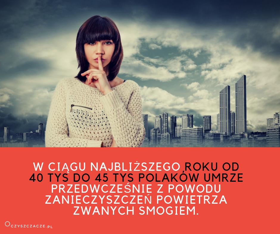 SMOG_Umrze 45 Polaków